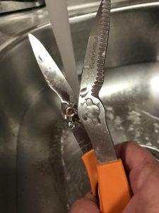 Fiskars Pull apart scissors