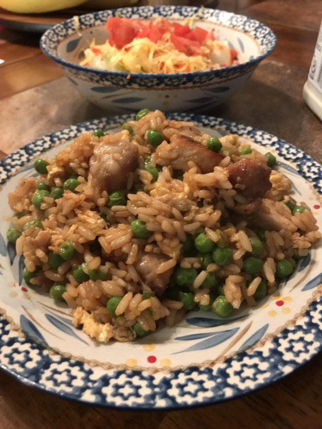 Pork and rice dinner recipe