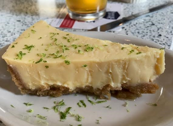 Key Lime Pie from Shuck's Oyster Bar