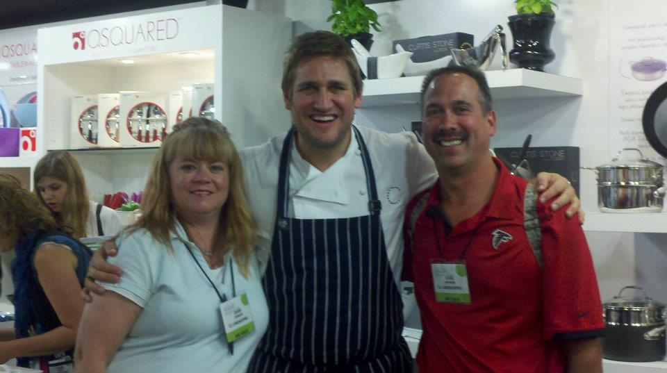 Me and chef curtis stone