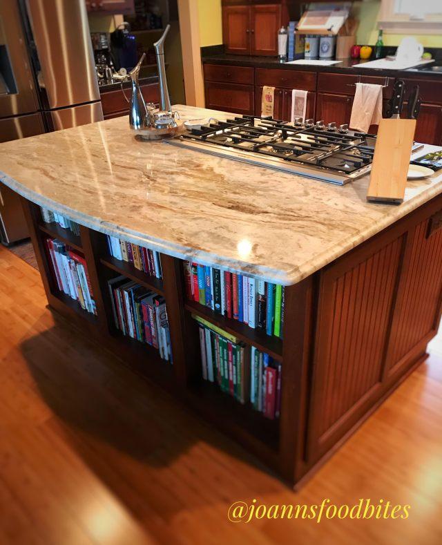 consider a kitchen island when designing your dream kitchen