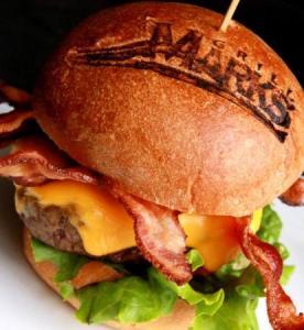 Grill Marks Hamburger