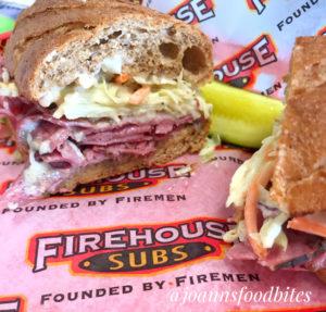 Reuben Pastrami Sandwich Firehouse Subs
