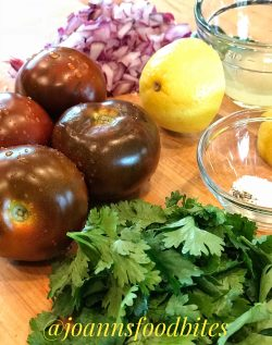 NatureSweet Tomato Salsa Ingredients/JoAnn's Food Bites