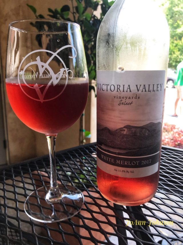 Vicitoria Vally Vineyards 2017 White Merlot