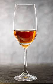 Glass of Sherry Fortified Wine