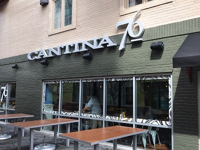 Cantina 76 Greenville location exterior