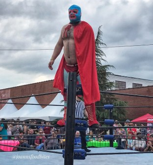 Lucha Libre Wrestler in the ring