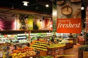 The Fresh Market produce dept