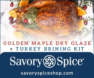 maple dry glaze and brining kit from savory spcies