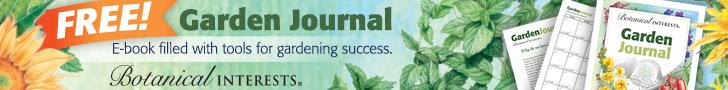 Botanical Interest Garden Journal
