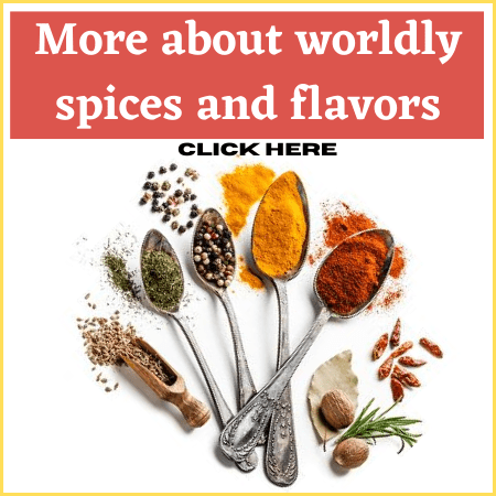 Worldly spices and flavors promo
