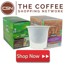 various types of coffee from the coffee shopping network