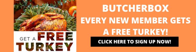 BUTCHERBOX FREE TURKEY PROMO