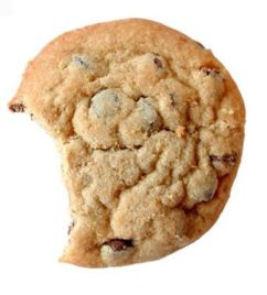 cookie with a bite out of it
