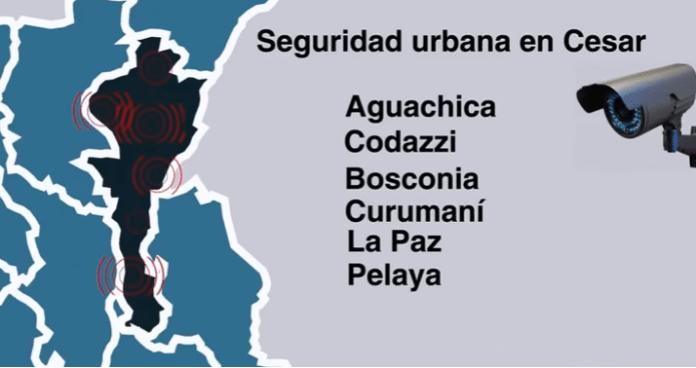 "Licitación para comprar cámaras de seguridad para 6 municipios de Cesar fue ""amañada"""