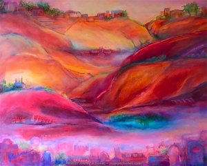 """Mirage ~ Oil ~ Image Size: 14"""" x 11"""" ~ $275 Includes Frame"""