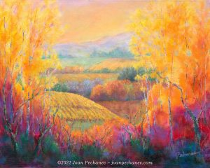 Autumn Gold ~ Oil Painting on Canvas ~ 16 x 20 ~ NFS. Prints available