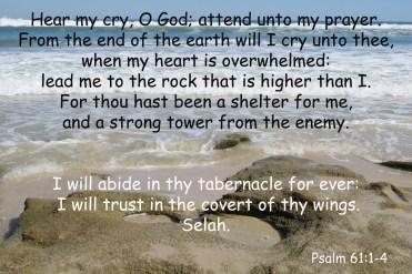 psalm 61-1-4