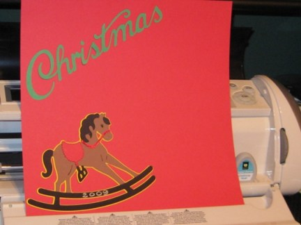cricutcartridgechristmasnoelrockinghorse