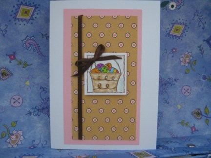 2012 easter card