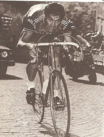 Eddy Merckx, vencedor en cinco ocasiones de la Lieja-Bastoña-Lieja