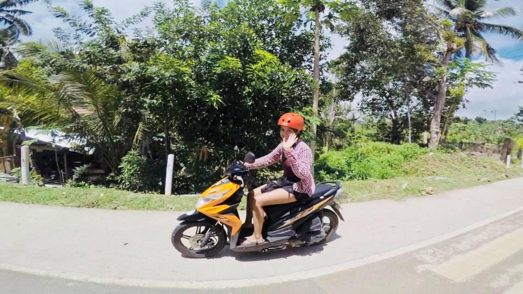 motorbike in siquijor