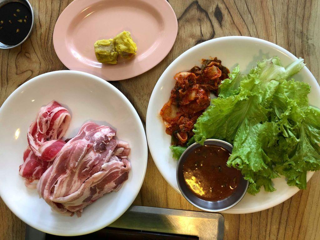 Samgyeop Pocha samgypsan korean restaurant