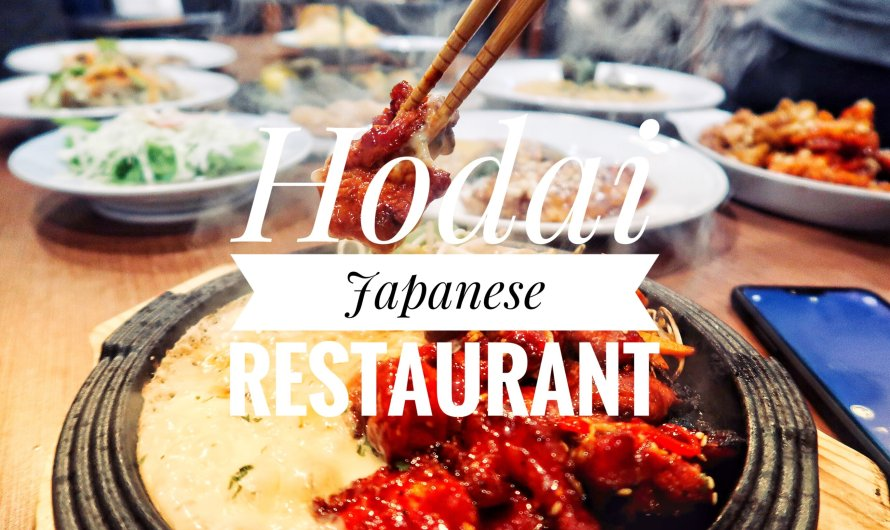 Hodai Restaurant: Unlimited Japanese Fusion Restaurant!