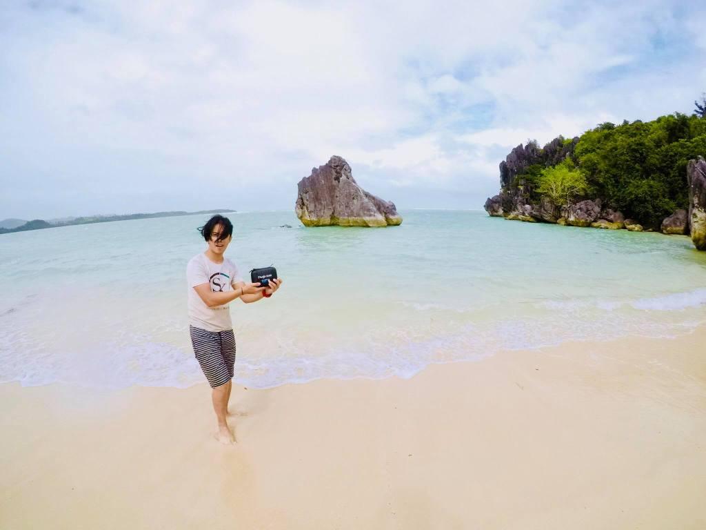 Caramoan island philippines camarines sur