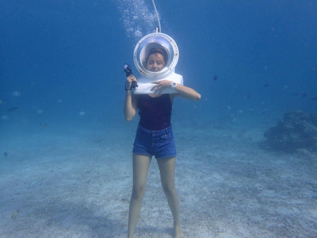 Helmet Diving in Boracay Island