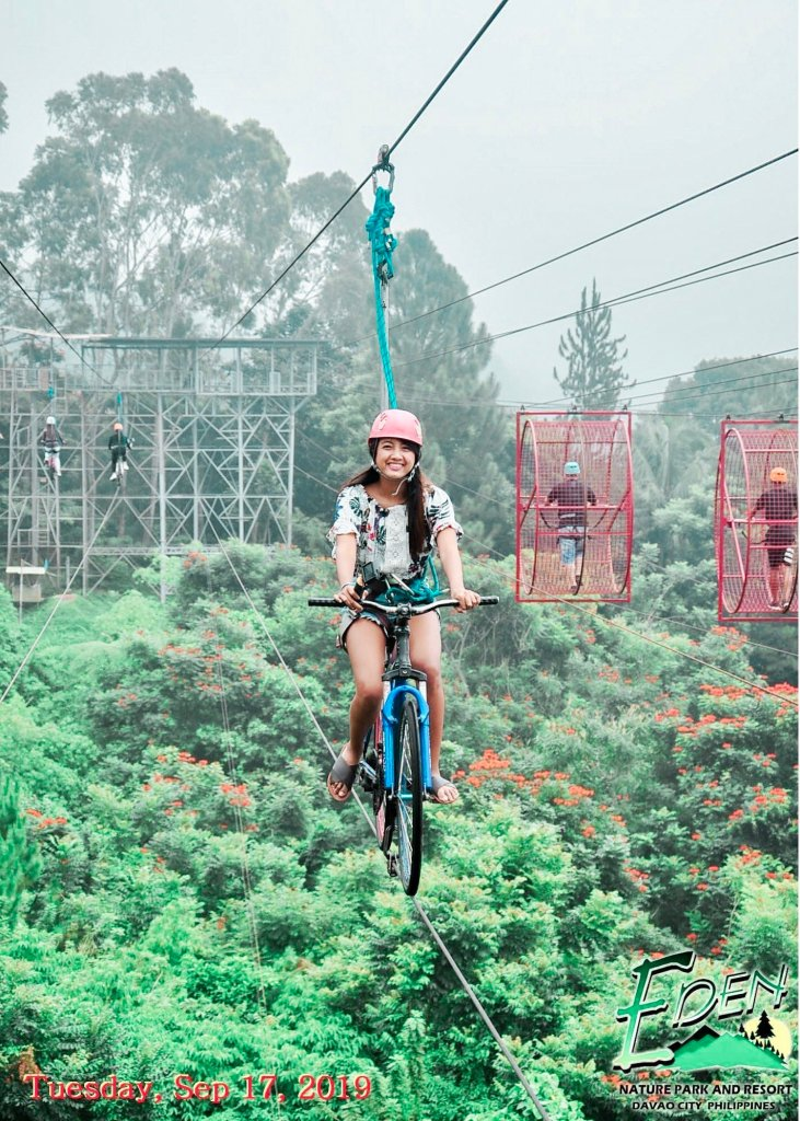 skycycle at eden nature park davao