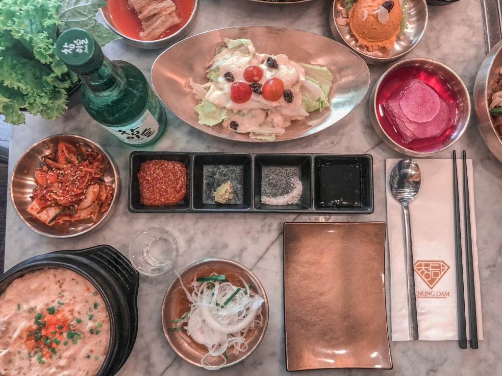 chung dam korean restaurant