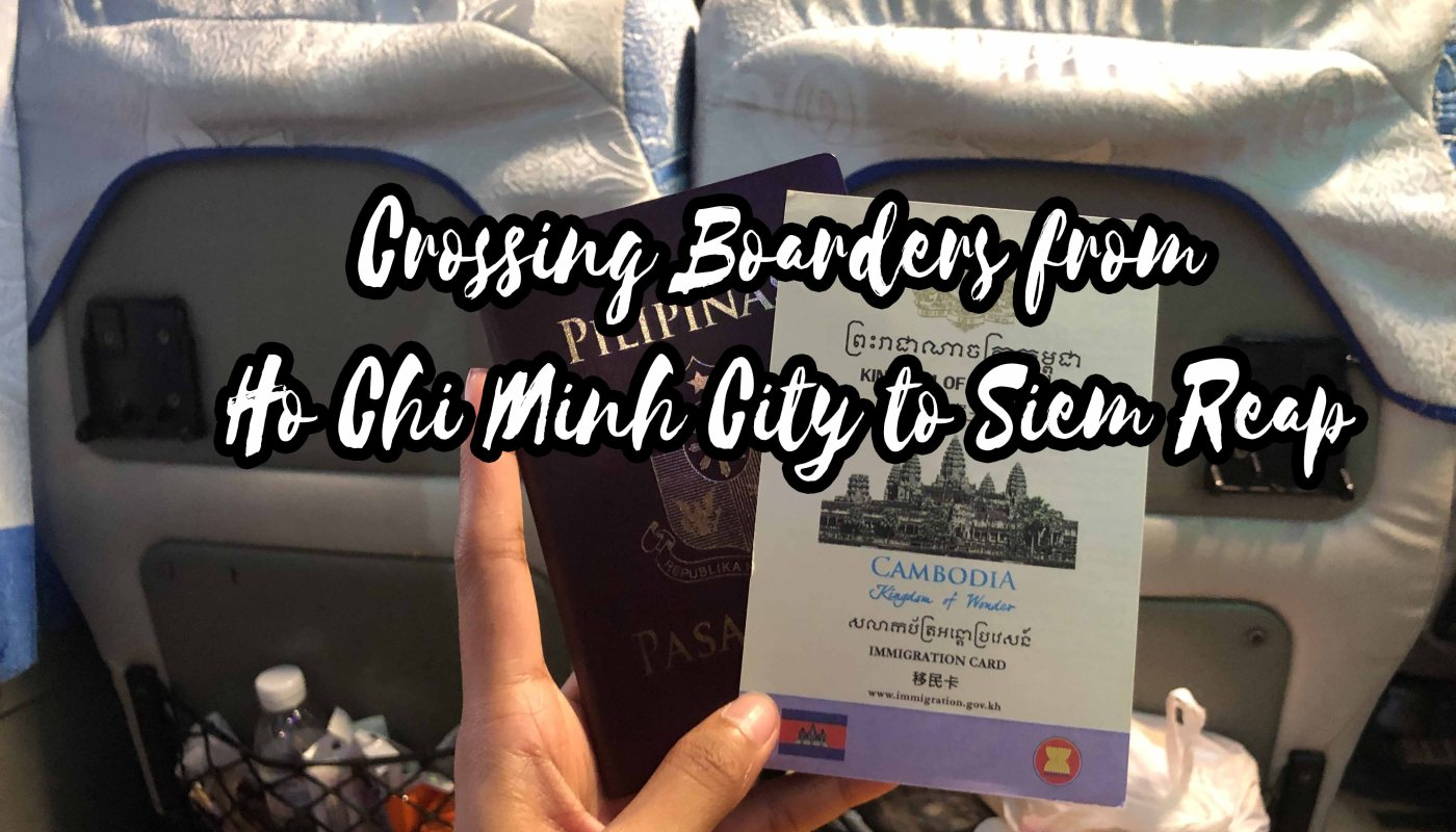Ho Chi Minh City to Siem Reap Travel Guide