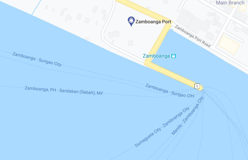 Zamboanga Port Ferry Schedules