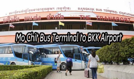 Mo Chit Bus Terminal to BKK Airport