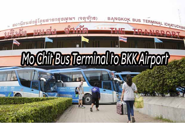 Mo Chit Bus Terminal to BKK Airport (Suvarnabhumi Airport) – Step by step guide