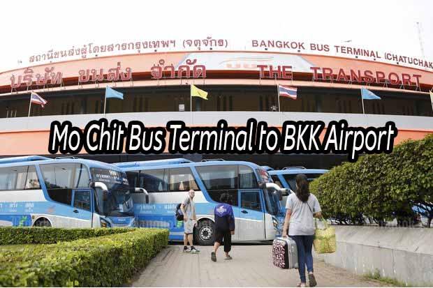 Mo Chit Bus Terminal to BKK Airport (Suvarnabhumi Airport) – Step by step guide