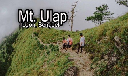 Mt Ulap DIY Travel Guide