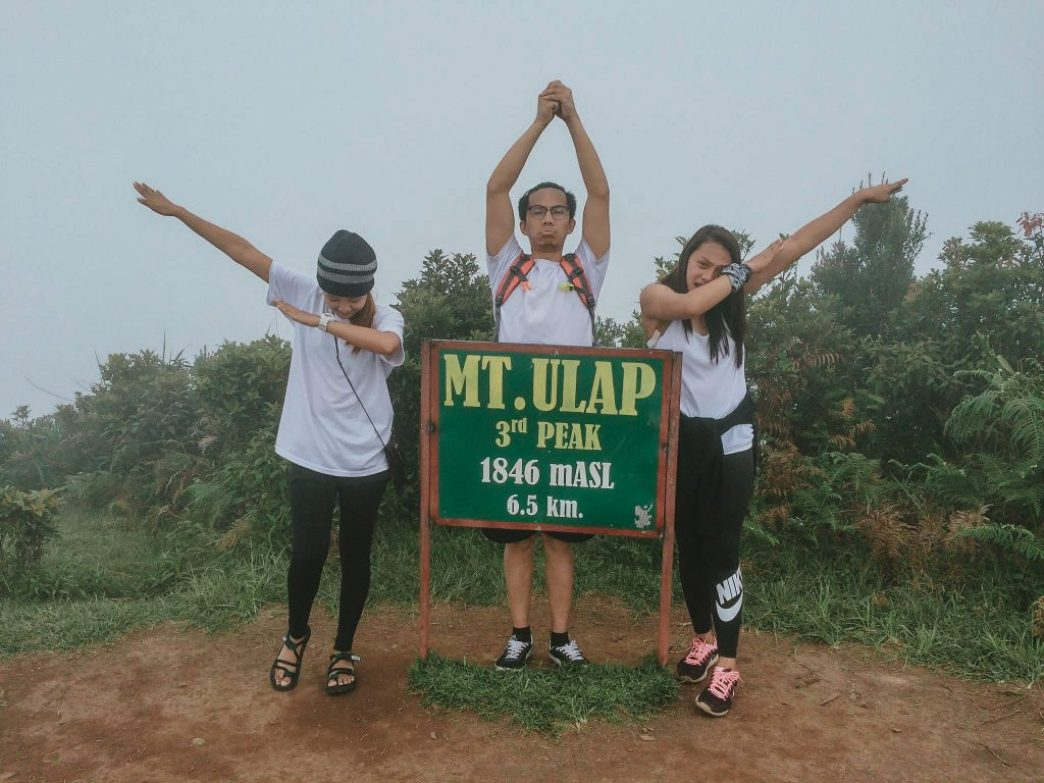 Mt Ulap summit
