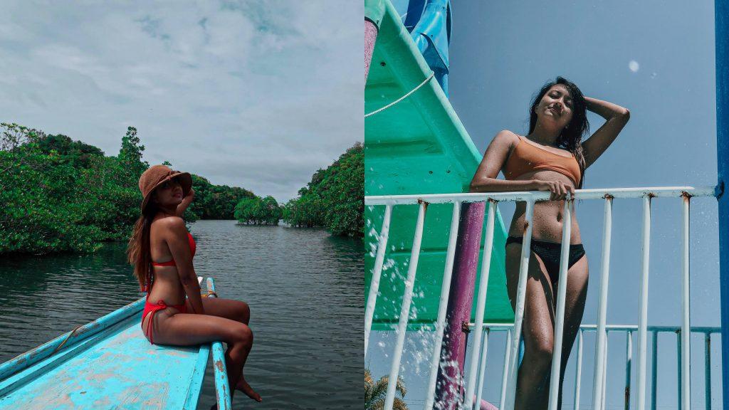 island girls brown skin