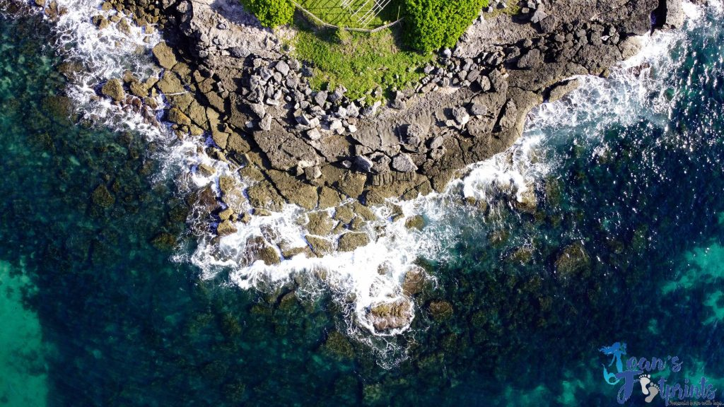 Colibra Island rock formations