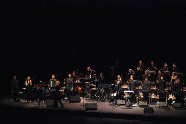 Maria Schneider with the ESMuC Big Band - Teatre-Auditori, Sant Cugat del Vallès (Catalonia) 02.12.09