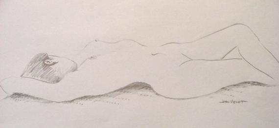 Nude Female Supine