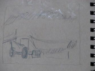 2014-0508 Thumbnail Sketch, Boatyard