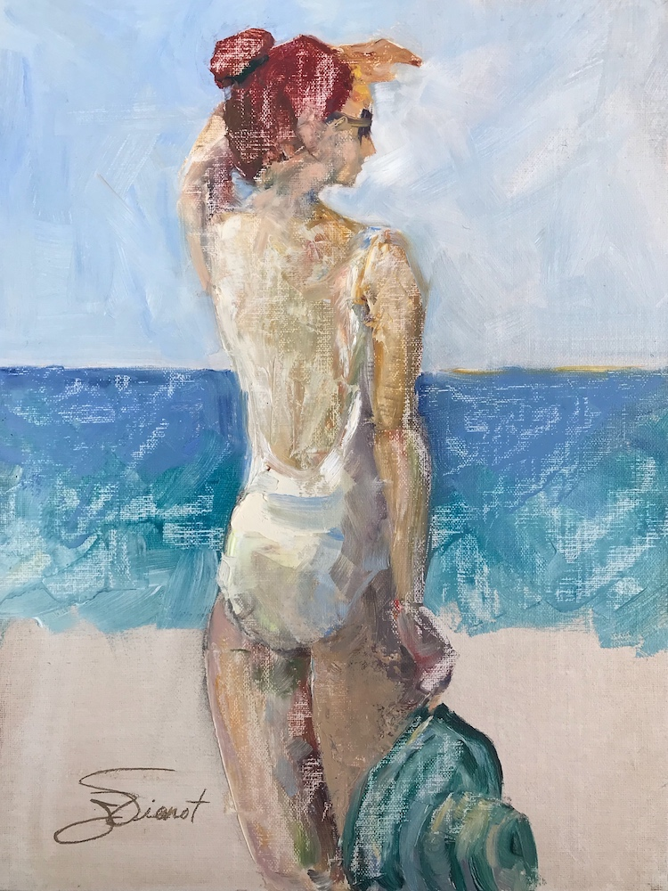 2018-0303 Samantha at the Beach