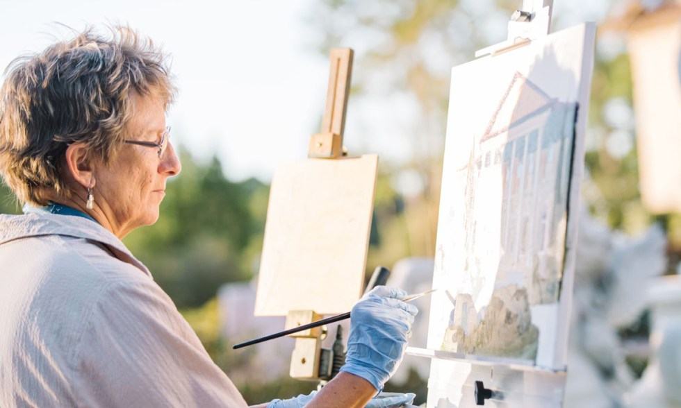 Live event painting | Joan Vienot planning worksheet