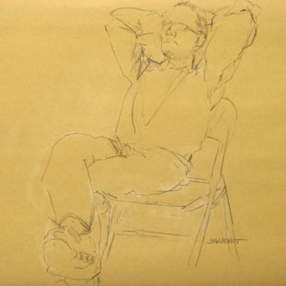 Artist Relaxing