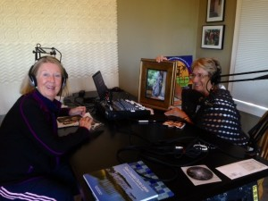Claire Bannerman interviews Joan on SUP Radio Show, 10-25-13