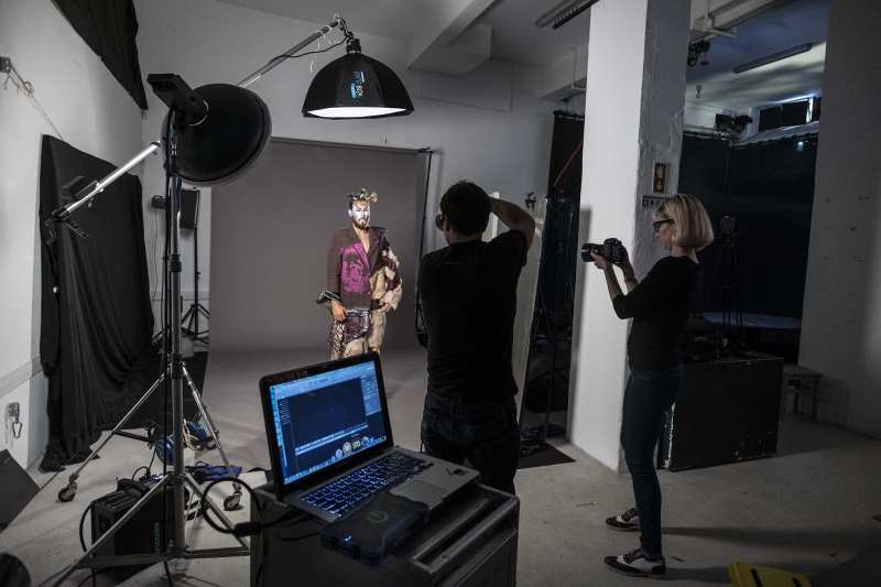 Bassanti behind the scenes joao carlos fashion